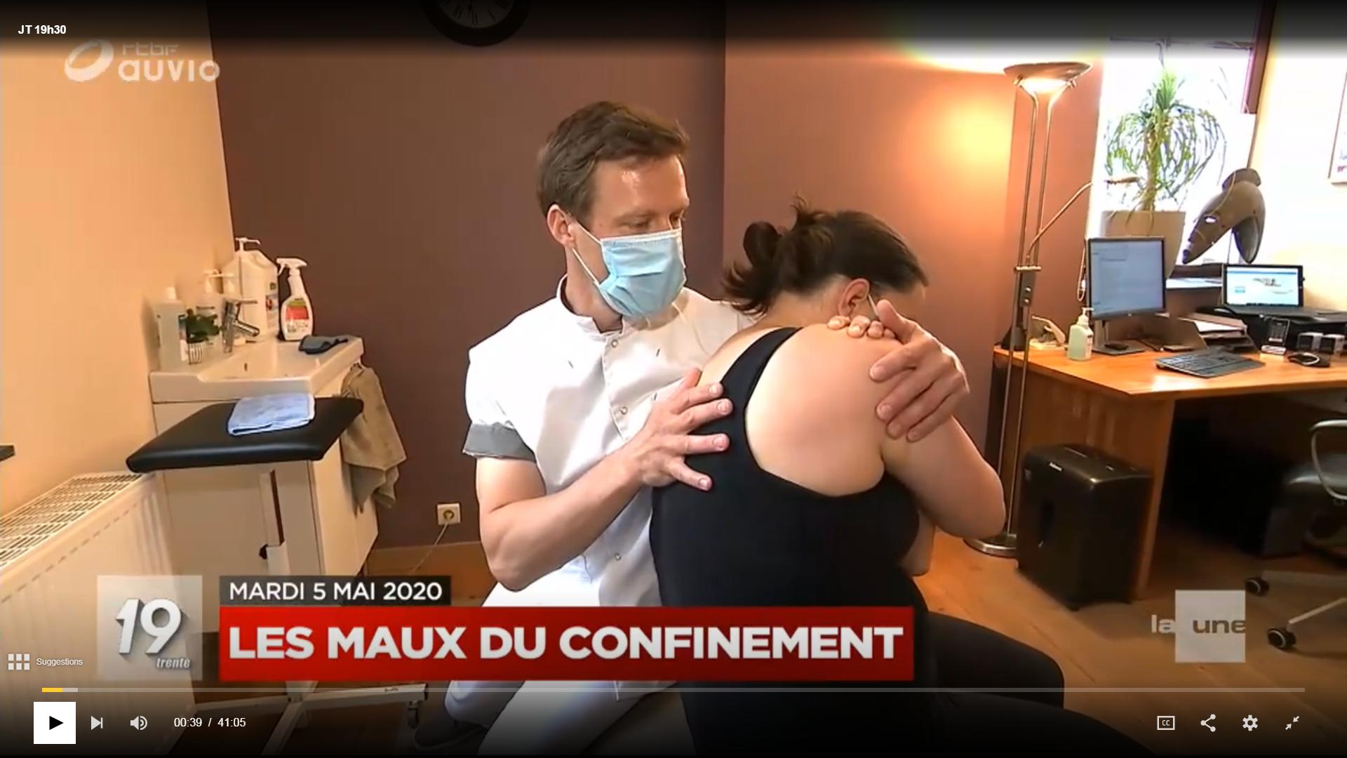 Reportage RTBF / Les maux du confinement